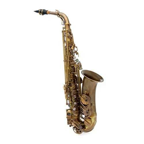 John Packer Alto Sax Antique Finish JP-045A Case/Zubehör