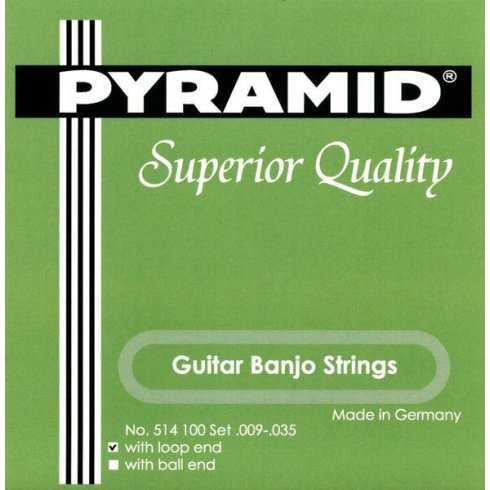 Pyramid Guitar Banjo Saiten 6-saitig