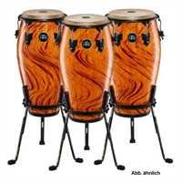 """Meinl Conga Set inkl. Ständer 11 3/4"""" & 12 1/2"""" Marathon Serie in Amber Flame Finish Ausstellungsins"""