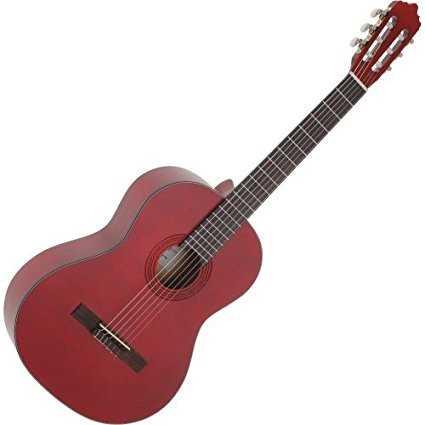 La Mancha Rubinito Rojo SM Konzertgitarre 4/4 Fichte massiv