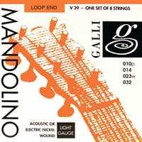 Galli V-039 Mandoline-Saiten Satz Nickel Wound