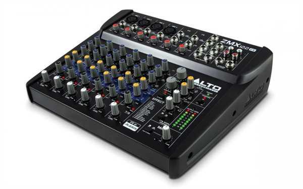 Alto ZMX-122FX - Mixer mit Effekt