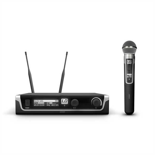 LD Systems U508 HHC - Funkmikrofon System mit Kondensator-Handmikrofon