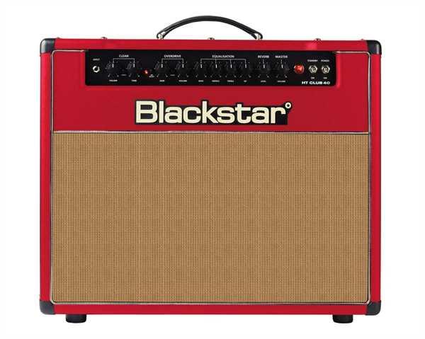 Blackstar HT-40 Club LTD RED E-Gitarren-Combo 40 Watt Vollröhre mit Footswitch B-STOCK