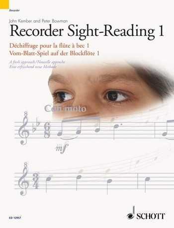 John Kember Recorder Sight-Reading vol.1 (en/frz/dt) Vom-Blatt-Spiel auf der Blockflöte