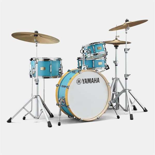 Yamaha Drum Set Stage Custom Hip Shell Set Matte Surf Green SBP0F4HMSG