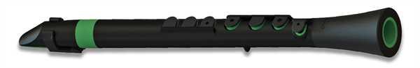 Nuvo DOOD schwarz - grün Stimmung C leicht Polymer