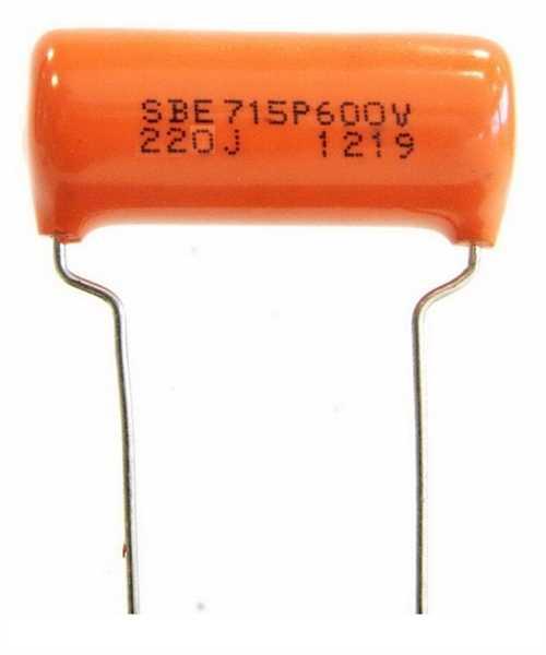 TAD Sprague Orange Drop 0,022µF 600V, Tone-Kondensator