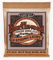 Ernie Ball Earthwood Phosphor Bronze light 2153 009-046 12-String