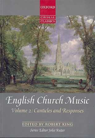English Church Music vol.2 - Canticles and Responses: for mixed chorus and organ score