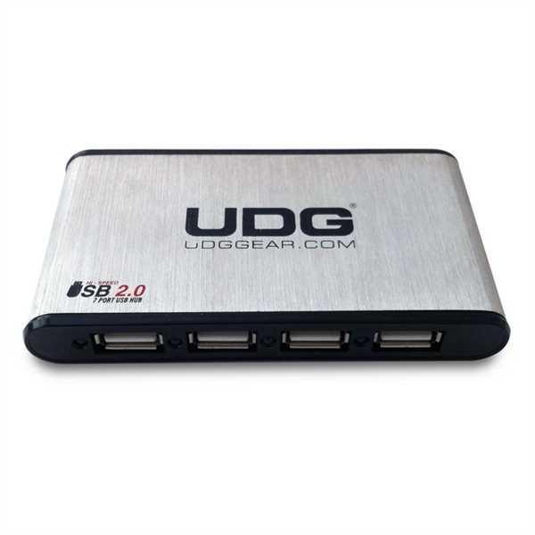 UDG USB Hub Alu 7 Port USB 2.0