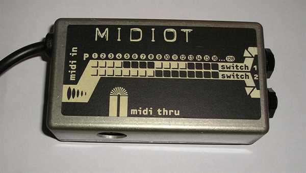 RSA Midiot (Für Kanalumschaltung)