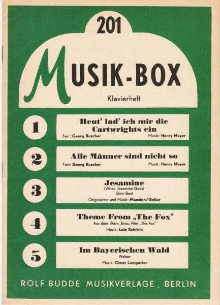 Antiquariat Musik-Box Klavierheft