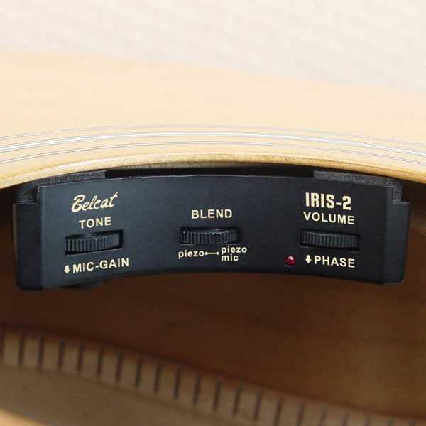 Belcat IRIS-2 Tonabnehmer für Westerngitarre