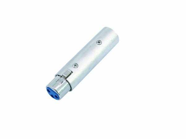Adapter XLR-Kupplung 3Pol / XLR-Stecker 5Pol