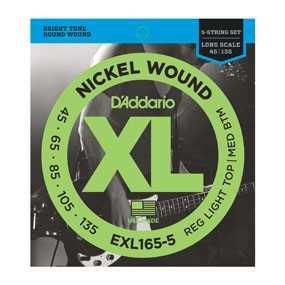 D'Addario EXL-165-5 Saitenset 045-135 E-Bass