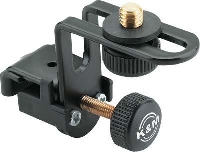 K+M Mikrohalter 24030 für Drumkesse schwarz