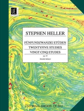 Stephen Heller 25 Etüden op.47 : für Klavier