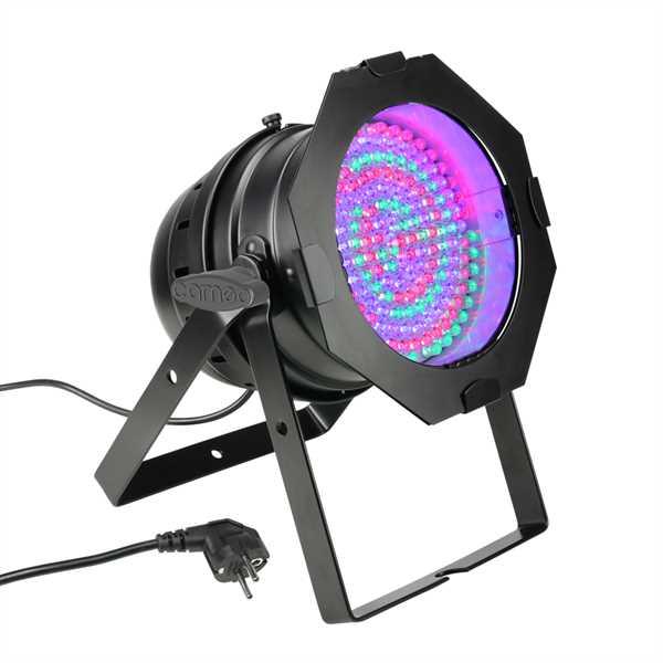 Cameo PAR 64 CAN - 177 x 10 mm LED RGBA - schwarz