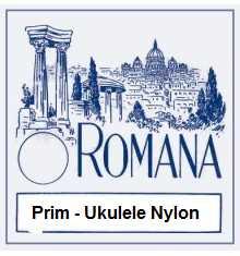 Romana Saiten-Satz für Prim-Ukulele, Nylon