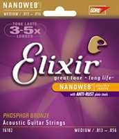 Elixir Acoustic 80//20 Bronze 11102 .013//.056 Saitensatz
