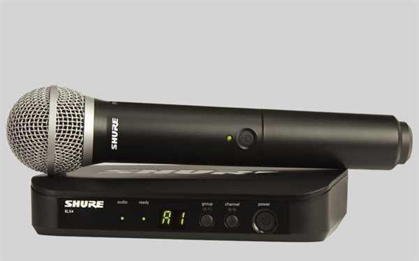 Shure Analoges BLX 24E/PG58 Mikrofon-Funksystem S8
