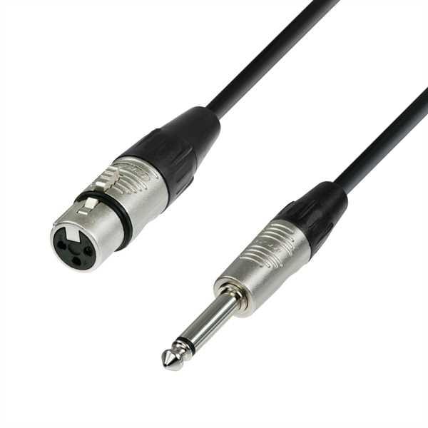ah Cables 4-Star - XLR-Klinke (10m)