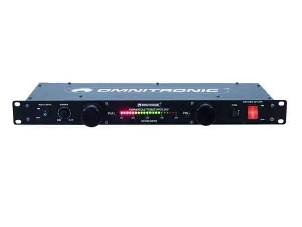 Omnitronic RLD-8 Rackbeleuchtung Stromverteilung