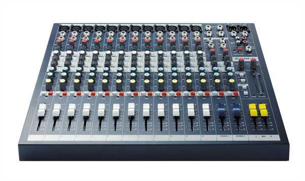 Soundcraft EPM 12 Mischpult (12xMono/2xStereo)