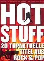 Antiquariat Hot Stuff 20 topaktuelle Titel aus Rock & Pop für Piano Vocal Guitar