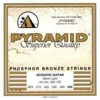 Pyramid 011-050 Phosphor Bronze Akustik-Gitarren Saiten