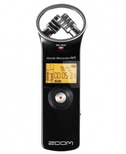 Zoom H1 -V2 MP3/Wave Handy Recorder