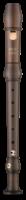 Moeck Rondo Sopran 2201 barock Ahorn gebeizt