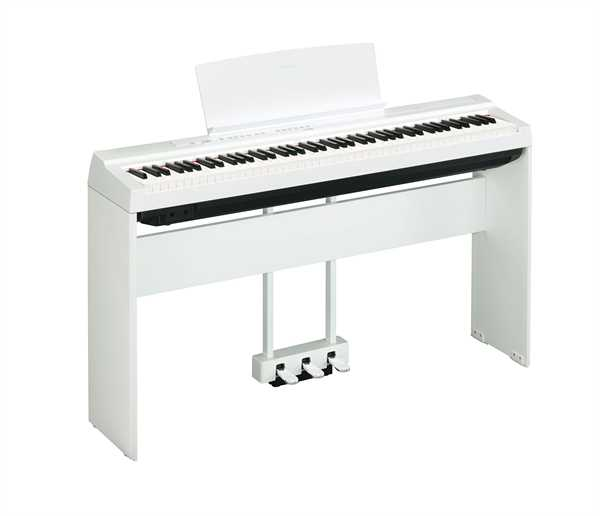 Yamaha P-125 WH Stage Piano Set, weiß