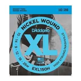 D'Addario EXL-150H Saitenset 010-026 Nashville Tuning