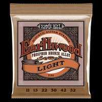"""Ernie Ball """"Earthwood Phos. Bronze light"""" Westerngitarren Saitenset 011-052"""