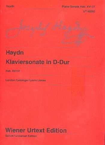Franz Joseph Haydn Sonate D-Dur Hob.XVI:37 : für Klavier