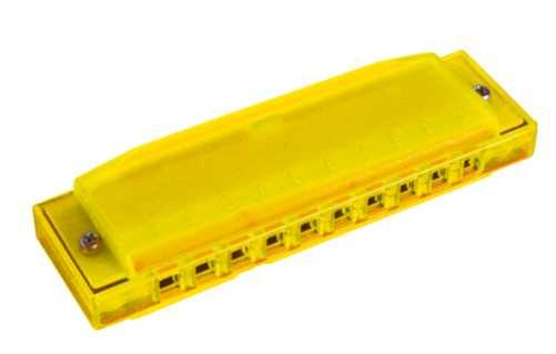 Hohner Happy Yellow Color Harp C-Dur