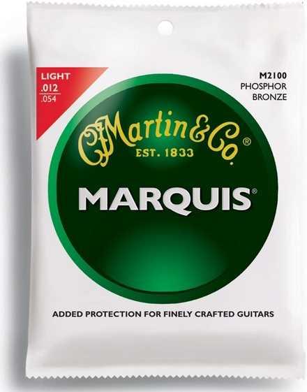 Martin Marquis M-2100 Phosphor-Bronze Saitenset 012-054