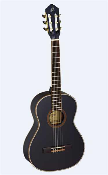 Ortega Konzertgitarre R221BK 3/4