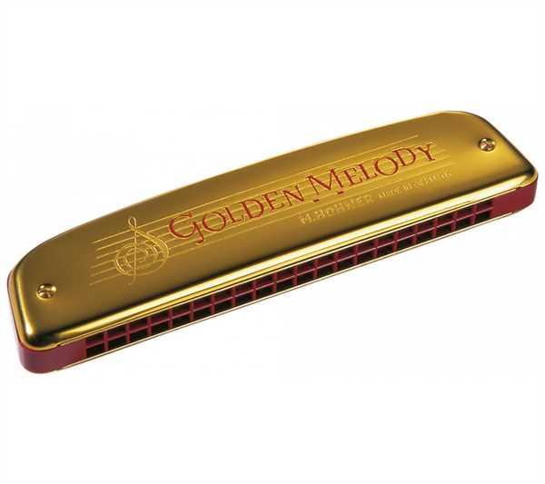 Hohner Golden Melody Mundharmonika in C-Dur 40
