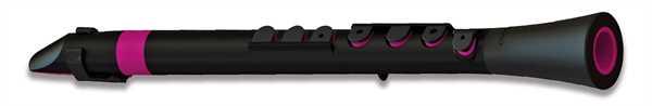 Nuvo DOOD schwarz - pink Stimmung C leicht Polymer