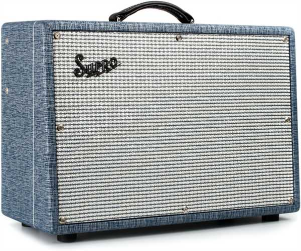 Supro Dual Tone 1x12 Röhrenverstärker Combo