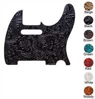RightOn Access Pickguard T Floral Brown