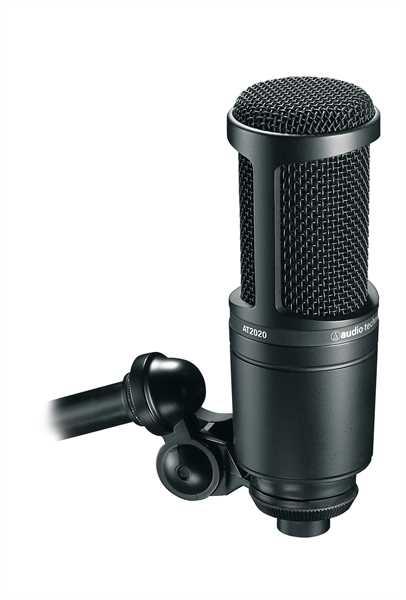Audio Technica AT2020 Großmembran-Mikrofon