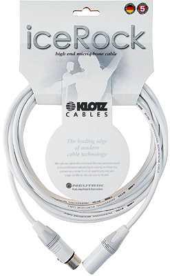 Klotz IRFM-1000 - Mikrofonkabel 10m, weiß