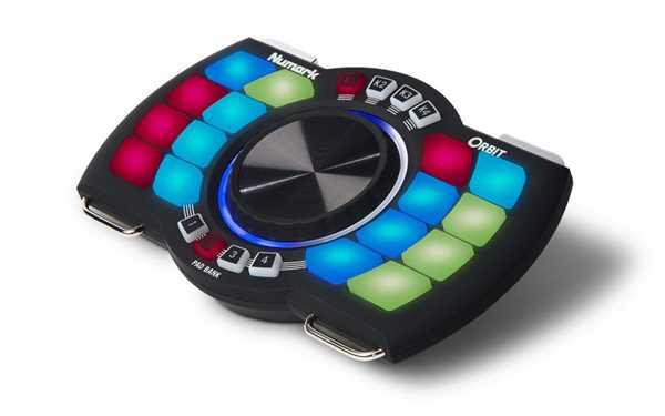 Numark Orbit Wireless DJ Controller mit Motion Control