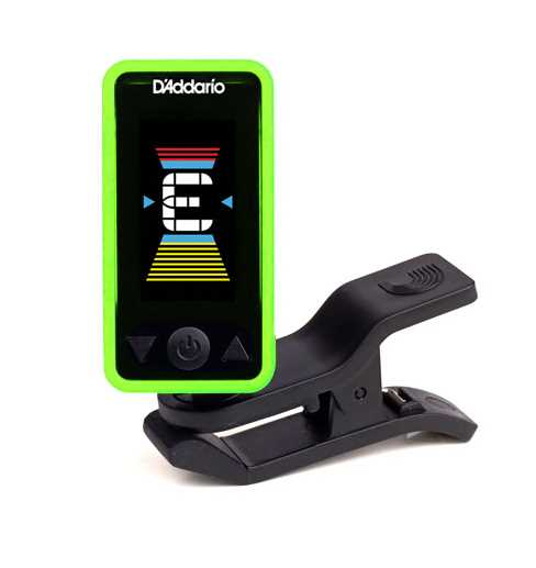 D'addario Eclipse Tuner Green