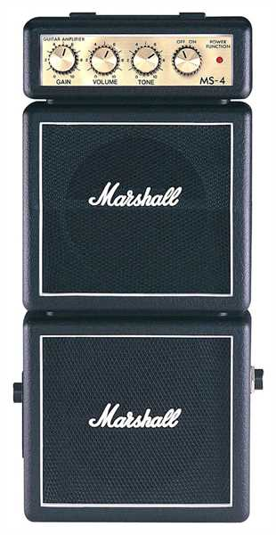 "Marshall MS-4 ""Microbe"" Fullstack (black)"