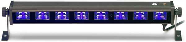 Stagg UV LED bar 8 x 3-watt, 45 cm
